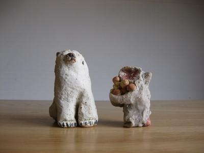 前川幸市猿・白熊