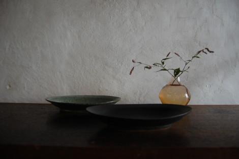 オーバルリム鉢②